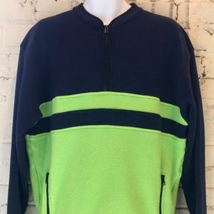 Vintage Gap Fleece Jacket Mens Retro Colorway
